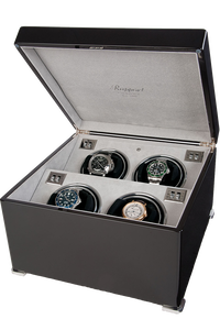 Perpetua II Ebony Quad Watch Winder