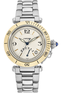 18K Yellow Gold and Stainless Steel Pasha Diver Power Reserve Automatic