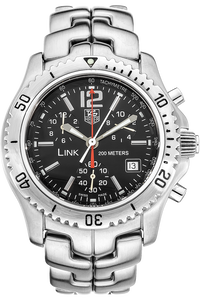 Stainless Steel Link Chronograph Quartz