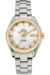 18K Yellow Gold and Stainless Steel Seamaster Aqua Terra Co-Axial Automatic