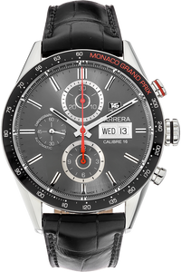 Stainless Steel Carrera Monaco Grand Prix Automatic Limited Edition
