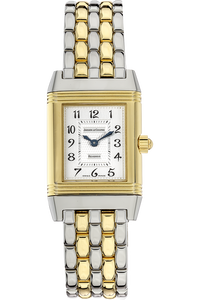 18K Yellow Gold and Stainless Steel Reverso Duetto Manual