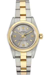 18K Yellow Gold and Stainless Steel Oyster Perpetual Automatic
