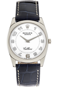 18K White Gold Cellini Danaos Manual