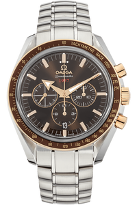 18K Rose Gold and Stainless Steel Speedmaster Broad Arrow Co-Axial Automatic