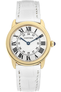18K Yellow Gold and Stainless Steel Ronde Solo Quartz