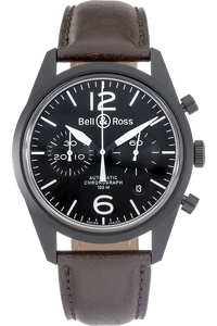 Heritage BR126 Chronograph PVD Stainless Steel Automatic