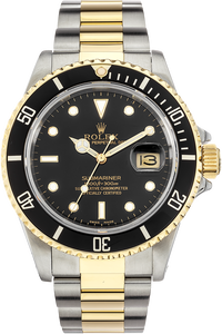 18K Yellow Gold and Stainless Steel Submariner Automatic Circa 1985