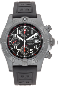 DLC Stainless Steel Avenger Skyland Blacksteel Automatic Limited Edition