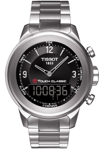 T-Touch Classic Men's Black Quartz Touch
