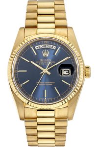 18K Yellow Gold Day-Date Automatic Circa 1985