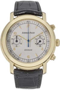 18K Yellow Gold Jules Audemars Chronograph Automatic