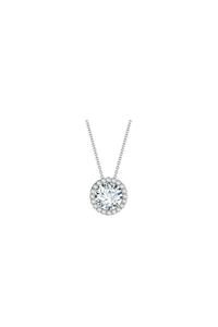 Center of My Universe Necklace (0.47ct)