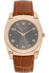 18K Rose Gold Cellini Cestello Manual