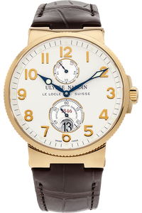 18K Yellow Gold Marine Chronometer Automatic