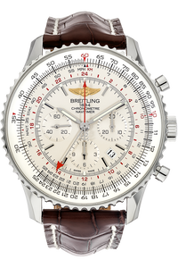 Stainless Steel Navitimer GMT Chronograph Automatic