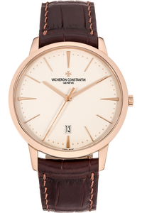 Patrimony Date  Rose Gold Automatic
