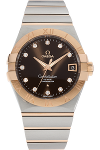 Constellation Co-Axial Rose Gold and Stainless Steel Quartz