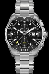 Aquaracer Calibre 16 300M Chronograph – Cermic Bezel