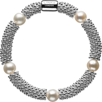 Effervescence Star Bracelet with White Pearls
