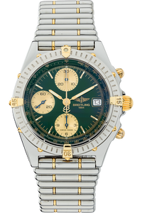 18K Yellow Gold and Stainless Steel Chronomat Vitesse Automatic