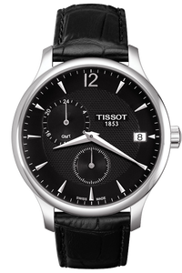 Tradition GMT Men's Black Quartz Classic