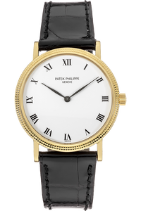 18K Yellow Gold Calatrava Automatic Reference 3992