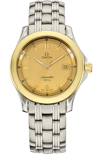 18K Yellow Gold and Stainless Steel Seamaster Quartz