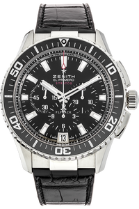 El Primero Stratos Flyback Stainless Steel Automatic