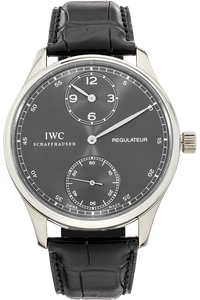 Portuguese Regulateur White Gold Manual