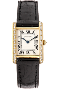 Tank Louis Cartier Yellow Gold Quartz