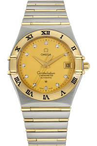 18K Yellow Gold and Stainless Steel Constellation Automatic