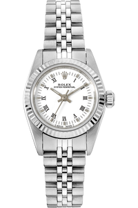 18K White Gold and Stainless Steel Oyster Perpetual Automatic