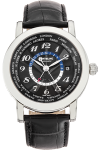 Star World Time GMT Stainless Steel Automatic