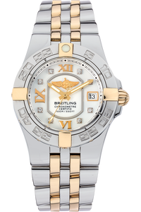 18K Yellow Gold and Stainless Steel Starliner Quartz