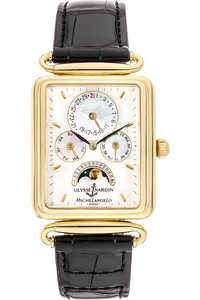 Michelangelo Yellow Gold Automatic