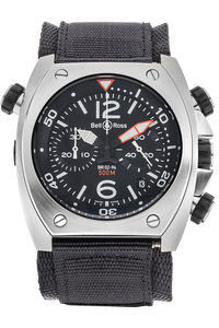 BR 02 Chronograph Stainless Steel Automatic