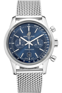 Stainless Steel Transocean Chronograph Automatic