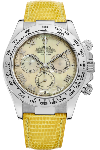 18K White Gold Daytona Automatic