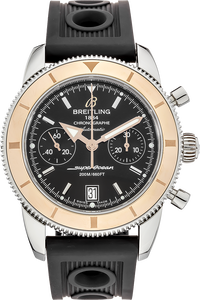 18K Rose Gold and Stainless Steel Superocean Heritage Chronograph Automatic