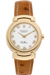 18K Yellow Gold Cellini Quartz