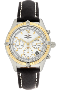 18K Yellow Gold and Stainless Steel Cockpit Chronograph Automatic