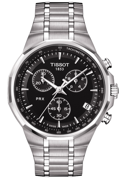 PRX Men's Black Chronograph Classic