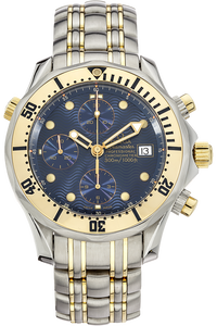 Seamaster Chronograph Yellow Gold and Stainless Steel Automatic