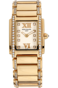 18K Rose Gold Twenty-4 Quartz Reference 4908
