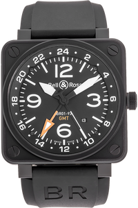 PVD Stainless Steel BR 01-93 GMT Automatic