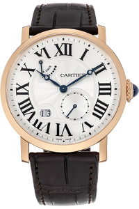 18K Rose Gold Rotonde de Cartier Power Reserve Manual
