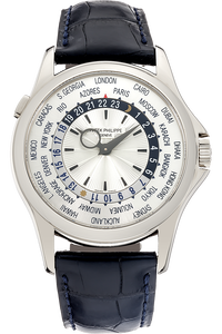 18K White Gold World Time Automatic Reference 5130