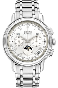 El Primero Chronomaster Moon Phase Stainless Steel Automatic