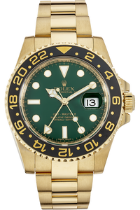 18K Yellow Gold GMT-Master II Automatic